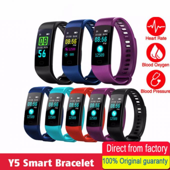 Slimy-Smart-Wristband-Y5-Sports-Heart-Rate-Smart-Band-Fitness-Tracker-Smart-Bransoletka-Smart-Watch-dla
