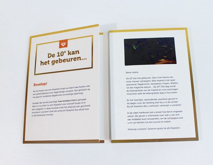 Videopak Customized Hardcover 7 cali Digital Lcd Video Brochure Wideo w folderze IPS SCREEN 1080P Video